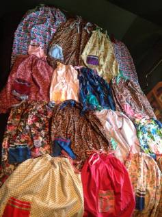 A shipment of dresses
