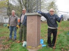 Cemetery Cleanup Volunteers take a (much-needed) break