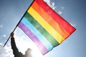 Pride Flag Waved