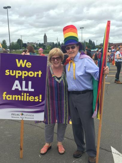 UCC folks with PFLAG
