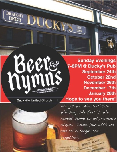 Beer and Hymns Fall 2017
