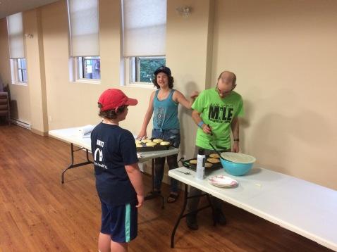 Pancakes and Prayers Prep Team