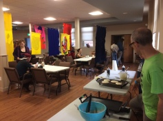 Tapestries and Pancakes during Sappyfest