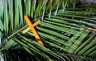 Palm and Cross