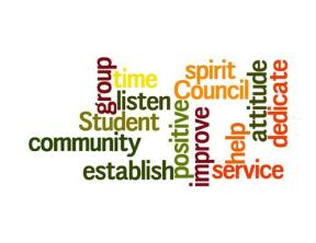 Student Council Word Art
