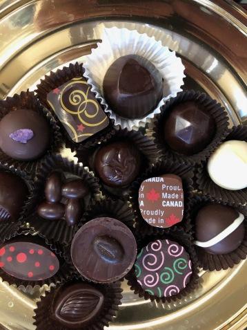 Mmm...chocolate! Thanks Ed!