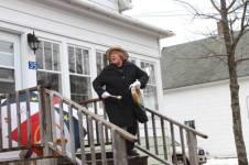 Anne Leads Singing Along Union Street