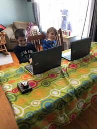 Duelling Harper Laptops