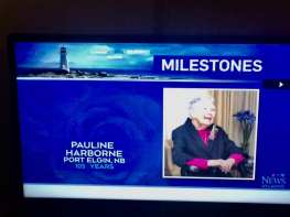 Happy 105th Birthday Pauline!