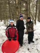 Harper Snow Day