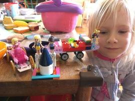 Megan LEGO Constructions